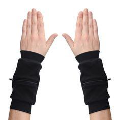 Wrist Zips | Wrist Wallet | Black