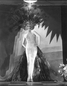 ♕ Vintage Costume Variations ♕  George Hurrell, Edwina Booth