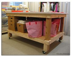 Building a Professional Worktable