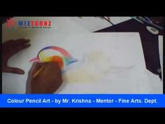 Time Lapse Video - Color Pencil Art - by Mr. Krishna - Mentor, Fine Arts Dept.