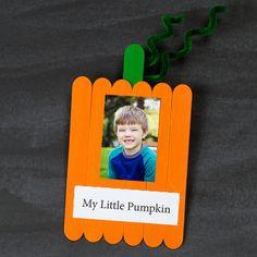 My Little Pumpkin Craft