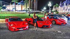 Ferrari F50 , LaFerrari & Enzo