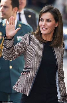 Queen Letizia has been left 'hurt' by a video showing a tense moment between her and mother-in-law Queen Sofia, according to a friend. The Spanish Queen put on a brave face today, in her first public appearance since the footage emerged