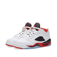 more photos fa968 1866e Nike Air Jordan 5 Retro Low LTD Fire Red 2016 Basketball Shoes Sneaker  white black red