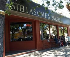 Stella's Cafe and Bakery - our favorite restaurant! Breakfast, lunch, or dinner!
