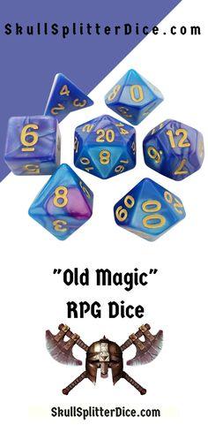 Spiele 7pcs polyedrischen Würfel D20 D12 D10 D8 D6 D4 für Dungeons & Dragons Sonstige