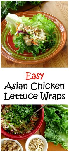 You won't believe how easy these Asian Chicken Lettuce Wraps are to make. My family loved this recipe!