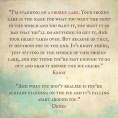 """Frozen Lake"" episode of NCIS:LA... Here's the definition of the frozen lake...  #sayockali #ncisla #frozenlake"