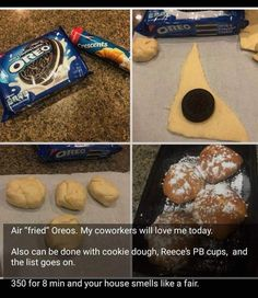 The BEST Chocolate Chip Cookies And Desserts Recipes – Easy and so Yummy! - New ideas Baking Recipes, Snack Recipes, Dessert Recipes, Cookie Recipes, Kraft Recipes, Frango Cordon Bleu, Delicious Desserts, Yummy Food, Food Cravings