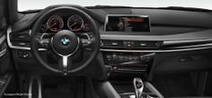 BMW X5 xDrive50i with M Sport package. Alcantara leather, aluminum hexagon M leather steering wheel with multifunction buttons and paddles.