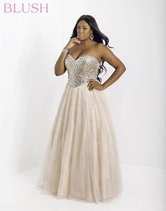 Plus Size Prom Dress #plussize #prom #plussizepromdress