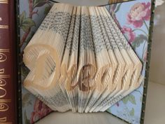 Dream  Altered Book Sculpture by ReadingWithScissors on Etsy, $55.00