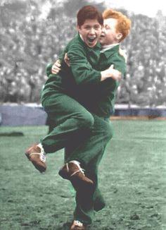 Ballboy Jinky ! First Color Photograph, Celtic Fc, Poor Children, New Friends, Glasgow, A Team, Legends, Nostalgia, Football