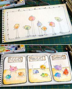 blog pour dessiner