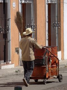 Street Cleaner - Mexico