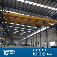 Designed and made according to JB/T 1306 Electric Single Girder Crane  http://www.ytcrane.com/products/overhead-crane/single-girder-overhead-cra/ld-type-single-girder-electric-crane.html