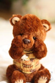 Artist Bears and Handmade Teddy Bears - Thousands of collectable bears from teddy bear artists around the world. My Teddy Bear, Cute Teddy Bears, Antique Teddy Bears, Bear Hugs, Charlie Bears, Boyds Bears, Love Bear, Build A Bear, Art Dolls