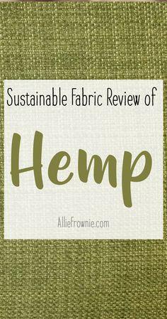 Sustainable Fabric - Women's style: Patterns of sustainability Ethical Clothing, Ethical Fashion, Slow Fashion, Vegan Clothing, Vegan Fashion, Fashion Women, Fashion Tips, Sustainable Fabrics, Sustainable Clothing