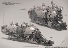 Alice - Teapot Trains, Gabe Kralik on ArtStation at https://www.artstation.com/artwork/alice-teapot-trains