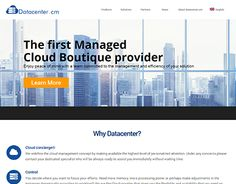 """Check out new work on my @Behance portfolio: """"Datacenter.cm Brand and web…"""