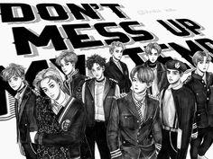 EXO Don't mess up my tempo Exo Kokobop, Baekhyun, Exo Fanart, Pop Posters, Exo Korean, Boy Pictures, Exo Members, Kpop, Mess Up