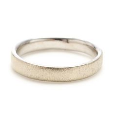 4mm White Gold Band (please inquire)