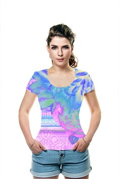 By Nina May. All Over Printed Art Fashion T-Shirt by OArtTee