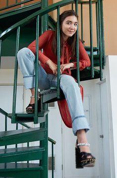 How Rowan Blanchard Is Making A Feminist Statement Through Fashion +#refinery29