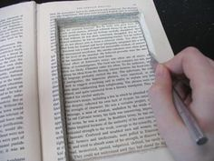 Book altering...very cool ideas