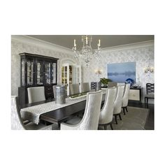Dining Rooms / Dining Room james thomas : interior design ❤ liked on Polyvore