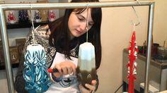 Карвинг свещ - как се прави.