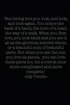 The most beautiful quote of true love