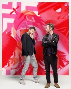 Damon Albarn and Jamie Hewlett of the band Gorillaz discussed their new album for an interview in the New Review.