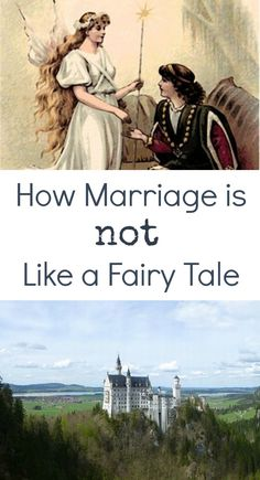 Pretending and imagining are fun - but not when it comes to marriage.  A magic wand does not make a marriage good. There's more to marriage than happily ever after.