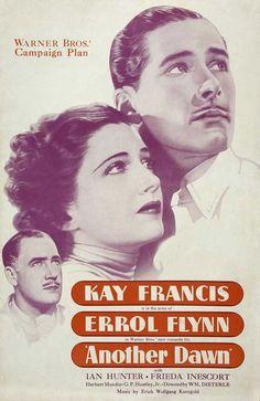 Kay Francis and Errol Flynn - Another Dawn, 1937