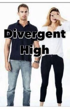 Divergent High:The Begining of it All - Beatrice Prior or Tris, the new girl at school. Tobias Eaton or Four, the popul...
