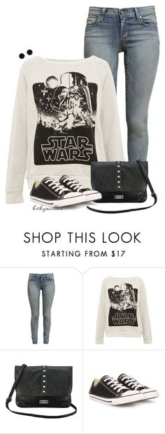 """""""Happy Star Wars Day!"""" by bitbyacullen ❤ liked on Polyvore featuring Paige Denim, Pull&Bear, Nine & Co, Converse and Givenchy"""