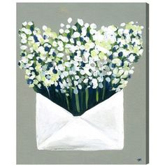 Brayden Studio Mail from the Valley Painting Print on Wrapped Canvas Size: