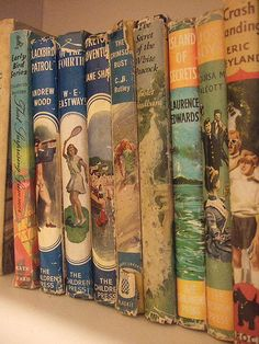 Vintage Book Collection with pretty covers