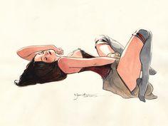Klimt girls, Yannick Corboz