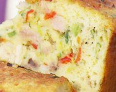 Pastel de pollo sin masa al horno de barro