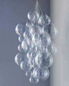 DIY Bubble Chandelier ~ Create an easy, sophisticated hanging decoration www.MadamPaloozaEmporium.com www.facebook.com/MadamPalooza