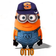 A cute 'Cuse minion designed by SU student Mary Manchin