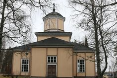 Halsuan kirkko Mansions, House Styles, Home Decor, Decoration Home, Manor Houses, Room Decor, Villas, Mansion, Home Interior Design