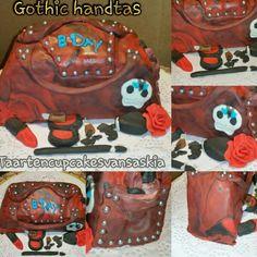 Gothic handtas taart