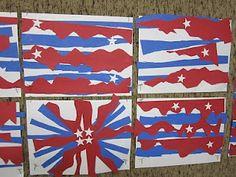 Art at East!: Kindergarten Patriotic Art