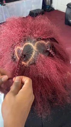 Braided Cornrow Hairstyles, Toddler Braided Hairstyles, Braided Hairstyles For Black Women, Dope Hairstyles, Hair Ponytail Styles, Curly Hair Styles, Natural Hair Styles, Love Hair, Gorgeous Hair