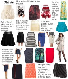 """""""Soft Natural (SN) - Skirts"""" by lightspring on Polyvore"""