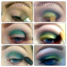Makeup tutorial by joannajoynelson.