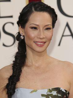 Luci Liu hair in braids